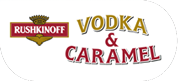 Rushkinoff Vodka Caramel